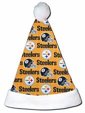 NEW NFL Pittsburgh Steelers Christmas Football Santa Hat Personalized 18""