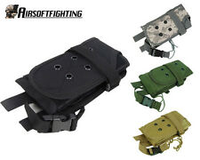4Color Tactical Molle PRC 148 MBITR Radio Pouch Bag Paintball Hunting Case A