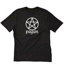 Pagan T-shirt Wicca Wiccan Witch Pentagram Nature Tee Size S-5X