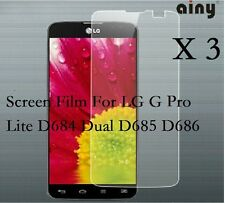 3 Glossy Matte Screen Protector Film Cover For LG G Pro Lite D684 Dual D685 D686