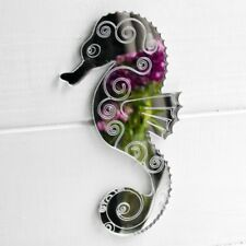 Decorative Engraved Seahorse Acrylic Mirror