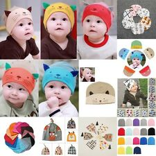 Unisex Newborn Baby Boys Girls Toddler Infants Floral Cotton Cute Hat Cap Lovely
