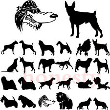 Cartoon Dinosaur Dog Sticker Figure Human Car Truck Window Vinyl Decal Halloween