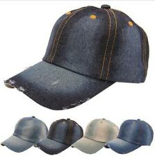 Solid Plain Washed Cotton Hat Caps Baseball Ball Cap Hat 100% Cotton NEW