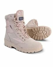 KOMBAT DESERT PATROL BOOTS ARMY COMBAT TACTICAL CADET MILITARY SECURITY WORK