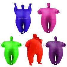Adult Chub Suit Inflatable Blow Up Full Body Costume Jumpsuit Halloween Party