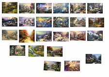Thomas Kinkade Wall Art Deco Oil painting HD print on canvas (No  frame)