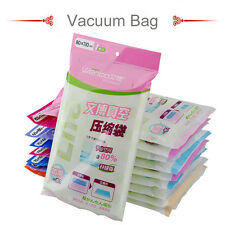 Multi size Vacuum Seal Storage Bags Space Saver Compressed Clothes Suitcase