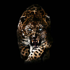 Home Decor Modern prints animal oil painting canvas Art wall Fantasy Leopard 215