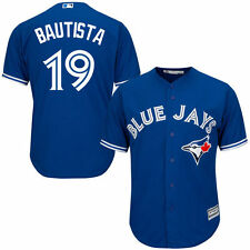 Men's Toronto Blue Jays Jose Bautista Royal Alternate Cool Base Player Jersey