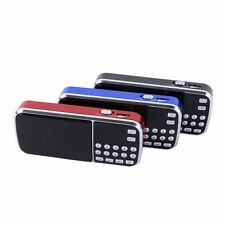 Portable Mini USB/USB/SD/FM Outdoor Rechargeable Radio Speaker Mp3 Music Player