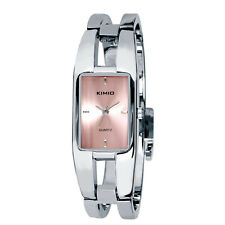 KIMIO Fashion Stainless Steel Bracelet Bangle Women's Watch Quartz Wrist Watch