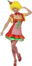 Adult Ladies Fancy Dress Funnyside Boo Boo The Clown Costume Complete Outfit