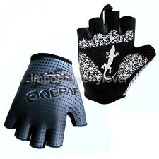 1Pair Cycling Bike Bicycle Half Finger Gloves Gel Padded Sports Short Gloves
