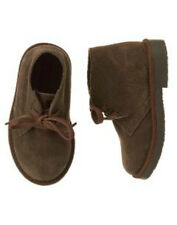 NWT Gymboree NIGHT FOREST Brown Leather Ankle Chukka BOOTS