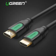 Ugreen HDMI Cable V1.4 With Ethernet For BLURAY DVD 3D TV PS3 XBOX 4K 1080P Gold