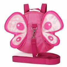 Baby Kids Cute Butterfly Walking Safety Harness Strap Backpack with Safety Leash