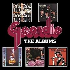 Albums: Deluxe Five Cd Boxset - Geordie New & Sealed CD BOX SET-STAND ALONE Free