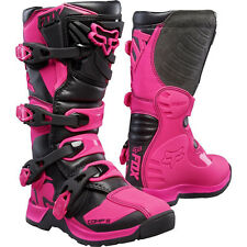 2017 Fox Racing Pink Comp 5 Boot Motocross MX Offroad Boots ATV Kids Youth Girls
