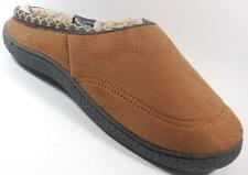 NEW Mens ISOTONER BROWN THINSULATE Slip On House Comfort Slippers Shoes