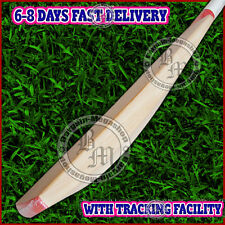 Custom Made English Willow Cricket Bat Full Size (NURTURED IN INDIA) +Free Extra