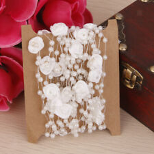 5M ABS Pearl Bead String Floral Garland Wedding Bridal Bouquet Craft Decor DIY