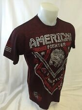 AMERICAN FIGHTER By AFFLICTION Mens T Shirt RED M L XL 2XL 3XL MISSISSIPPI M2640
