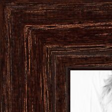 ArtToFrames 1.125 Inch Walnut Stain on Oak Wood Picture Poster Frame 80209 SM
