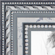 ArtToFrames 1 Inch Ornate SIlver Wood Picture Poster Frame 80801 LG