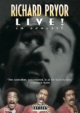 Richard Pryor - Live in Concert (DVD, 1998) GREAT SHAPE