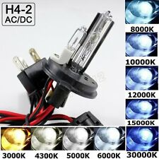 H4-2 9004 HB2 HID Bulbs High Xenon Low Halogen Beam Headlight Conversion 3K-30K