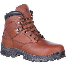 New Rocky Boots RKK0190 Men's Brown Work Boots