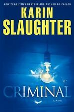 Will Trent: Criminal by Karin Slaughter (2012, Hardcover) FIRST EDITION NEW
