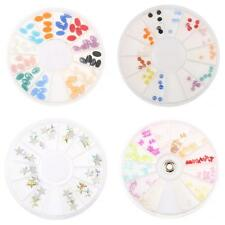Nail Art Rhinestones Oval/Round/Butterfly/Five-star DIY Jewelry Decoration Wheel