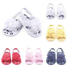 0-12M Non-Slip Newborn Infant Baby Toddler Lace Flower Shoes Boots Booties Shoes
