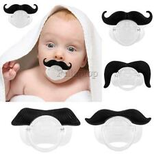 Baby Pacifier Silicone Nipple Infant Child Dummy Beard Soother Nipples