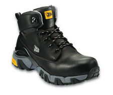 JCB 4X4-B Safety Boots Black With Steel Toe Caps & Midsole