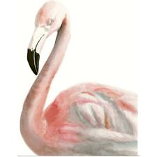 Poster Print Wall Art entitled Watercolor Flamingo