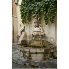 Poster Print Wall Art entitled France, Provence, St. Remy-de-Provence. Water