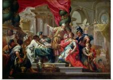 Poster Print Wall Art entitled Alexander the Great in the Temple of Jerusalem,