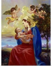 Poster Print Wall Art entitled Mother And Child