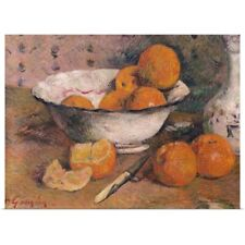 Poster Print Wall Art entitled Still life with Oranges, 1881 (oil on canvas)