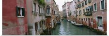 Poster Print Wall Art entitled Buildings on both sides of a canal, Grand Canal,