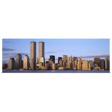 Poster Print Wall Art entitled Skyscrapers in a city World Trade Center