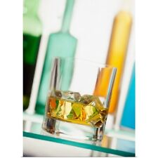 Poster Print Wall Art entitled Whiskey And Ice