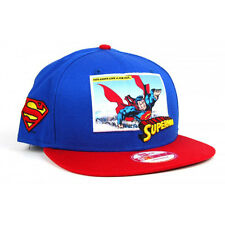 New Era 9fifty Superman Comic Panel Superhero Snapback Royal Blue / Red Hat Cap
