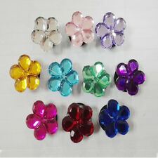 Crystal Flowers PVC SHOE CHARMS shoe accessories For wristband,Shoe Ornament
