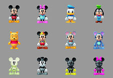 7-11 HK Disney 90th Mickey Mouse and Friends (Minnie Goofy) Keychain
