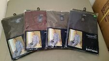 New Basic Editions Men's Broadcloth Pajamas~Short Sleeve/Long Leg
