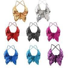 Phenovo Belly Dance Butterfly Top Bra Sexy Dancing Costume Stunning Multi Colors